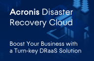 Acronis Disaster Recovery Cloud Datasheet