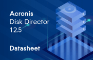 Acronis Disk Director 12.5 Datenblätter
