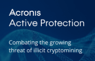 Acronis Active Protection: Combating the growing threat of illicit cryptomining