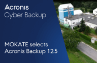 MOKATE selects Acronis Cyber Backup for data storage and protection