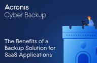 The Benefits of a Backup Solution for SaaS Applications