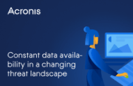 Acronis Active Protection: Constant Data Availability in a Changing Threat Landscape