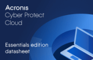 Acronis Cyber Protect Cloud Essentials Edition Datasheet
