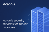 Acronis Security Services for Service Providers