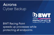 BWT Racing Point Speeds Up Processes While Protecting All Endpoints and Workloads with Acronis