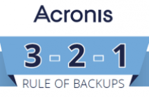 Acronis 3-2-1 Rule of Backups - Infographic
