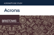 Acronis Disaster Recovery Service Case Study: Bristows LLP