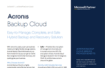 Acronis Backup Cloud