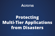 Protecting Multi-Tier Applications from Disasters