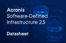 Acronis Software-Defined Infrastructure Fiches techniques