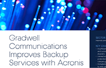 Gradwell Communications Improves Backup Services with Acronis