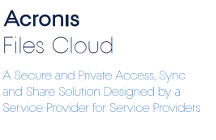 Acronis Files Cloud