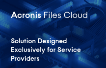 Acronis Files Cloud - Datasheet