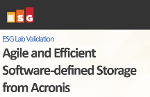 Agile and Efficient Software-defined Storage from Acronis - ESG Lab Validation