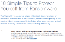 10 Simple Tips to Protect Yourself from Ransomware