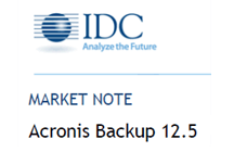 Acronis Backup 12.5: Transforming Data Protection with Blockchain Tech, Ransomware Protection, and Quick Insights