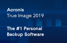 Acronis True Image 2019 Consumer Brochure