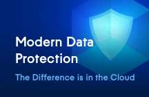 Modern Data Protection. The Difference is in the Cloud