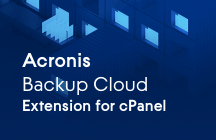 Backup Cloud Extension for cPanel. Complete Website Backup and Self-service Recovery