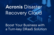Acronis Disaster Recovery Cloud Fogli informativi
