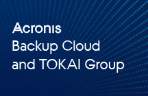 TOKAI Communications reduce costs and defends their customers with Acronis Backup Cloud