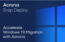 Acelere la migración a Windows 10 con Acronis