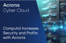 Computol Increases Security and Profits with Acronis Cyber Backup Cloud