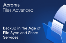 Backup in the Age of File Sync and Share Services