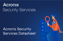 Acronis Security Services Datasheet
