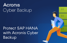 Protect SAP HANA with Acronis Backup