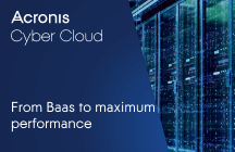 From Backup as a Service CLOUDFIRE services to maximum performance thanks to Acronis Cyber Cloud