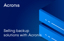 Know Your Options: Selling Backup Solutions with Acronis