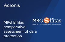 MRG Effitas Comparative Assessment of Data Protection / Backup Products on Protection, Performance and Usability