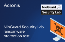 NioGuard Security Lab: Ransomware Protection Test