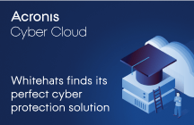 Whitehats finds its perfect cyber protection solution Acronis Cyber Cloud