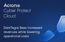 DataTegra Sees Increased Revenues While Lowering Operational Costs with Acronis Cyber Protect Cloud