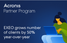 EXEO Grows Number of Clients by 50% Year-Over-Year Since Joining the Acronis Partner Program