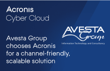 Avesta Group chooses Acronis for a channel-friendly, scalable solution