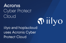 iilyo and hopla.cloud uses Acronis Cyber Protect Cloud to protect their customers on OpenStack