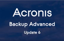 Acronis Backup Advanced 11.7 Update 6