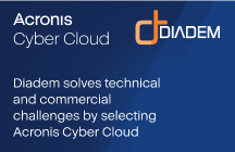 Diadem solves technical and commercial challenges by selecting Acronis Cyber Cloud