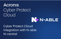 Cyber Protect Cloud Integration with N-able N-central