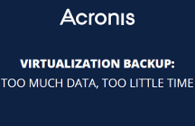Virtualization Backup: Too Much Data, Too Little Time