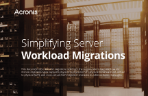 Acronis Use Case - Simplifying Server Workload Migrations