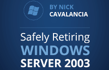 Come dismettere in sicurezza Windows Server 2003