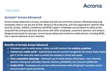 Acronis Access Advanced