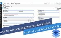 Embedded thumbnail for How to Set Up an Integration between Acronis Data Cloud and ConnectWise Manage: A Real-Time Training
