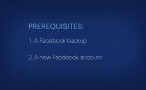 Embedded thumbnail for How to recover an entire Facebook account with Acronis True Image 2017