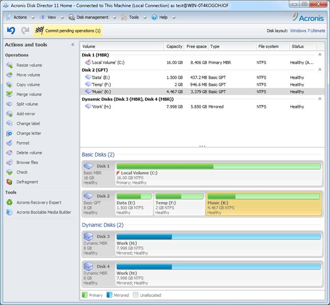 Acronis Disk Director Suite 10.0.2288. File & Disk Management. Linux.